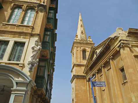 St. Paul's Co-Cathedral in Valletta Malta
