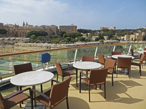 View of Valletta from Cruise Ship